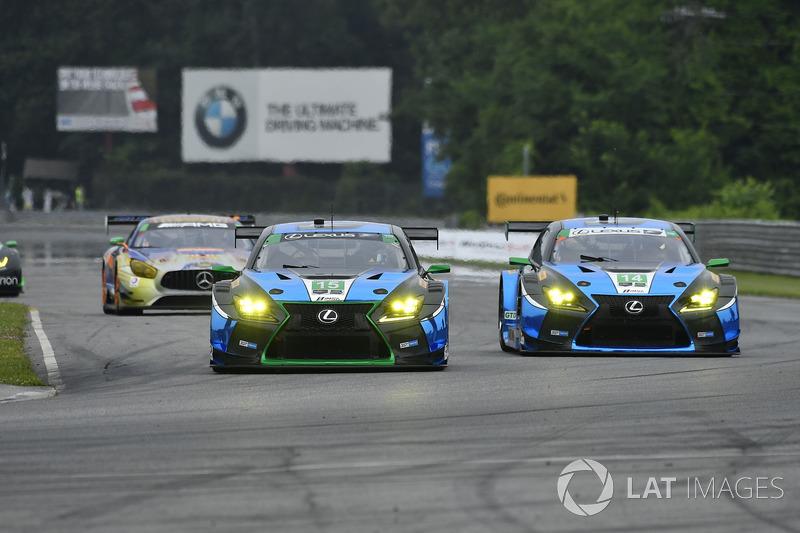 #15 3GT Racing Lexus RCF GT3: Robert Alon, Jack Hawksworth, #14 3GT Racing Lexus RCF GT3: Scott Pruett, Sage Karam