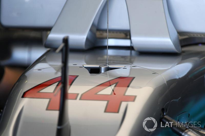 تفاصيل أنف سيارة مرسيدس