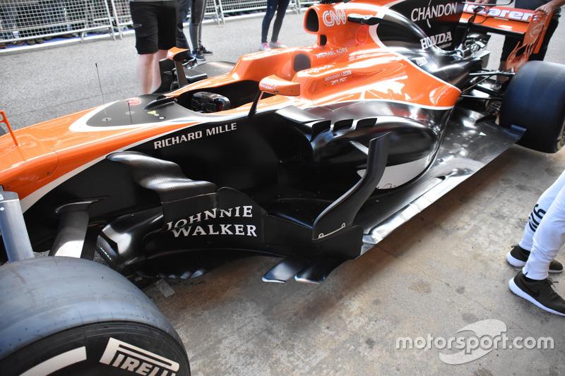 Дефлектор McLaren MCL32