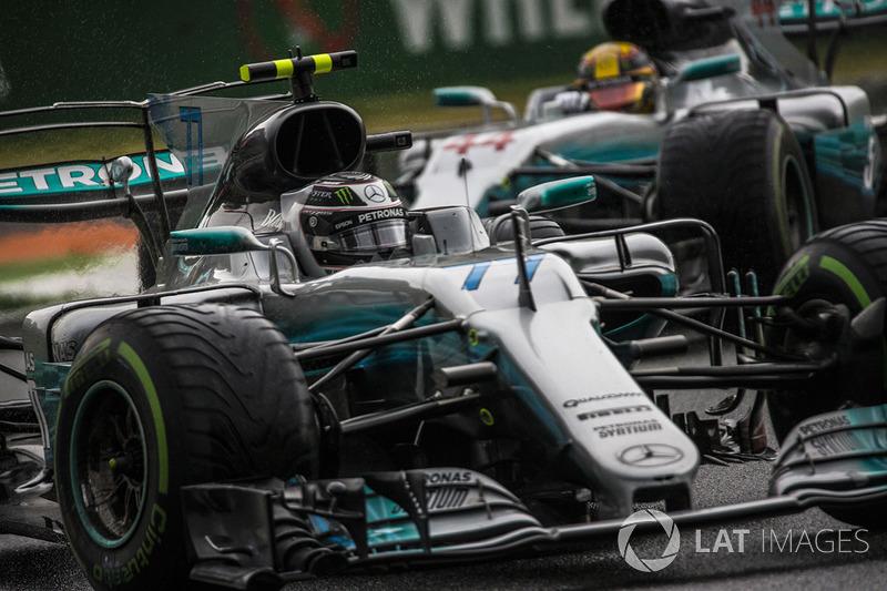 4: Valtteri Bottas, Mercedes-Benz F1 W08