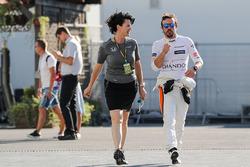 Fernando Alonso, McLaren, Silvia Hoffer Frangipane, McLaren oficina de prensa