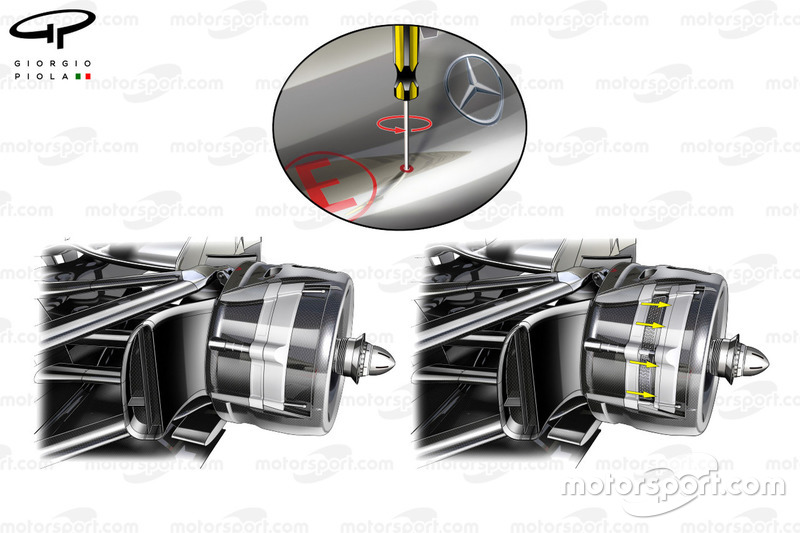 McLaren MP4-27 achterrem detail