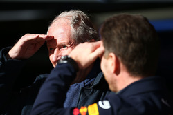 Teamchef Christian Horner, Red Bull Racing, mit Helmut Marko, Red Bull