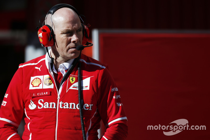 Jock Clear, Engineering Director, Ferrari