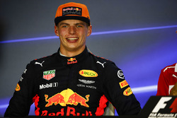 Press conference: second place Max Verstappen, Red Bull Racing