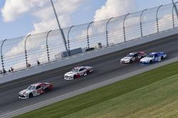 Erik Jones, Joe Gibbs Racing Toyota, Cole Custer, Stewart-Haas Racing Ford, Ryan Blaney, Team Penske Ford, Daniel Suárez, Joe Gibbs Racing Toyota