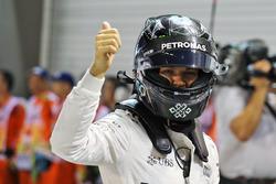 Pole Position für Nico Rosberg, Mercedes AMG F1 W07 Hybrid
