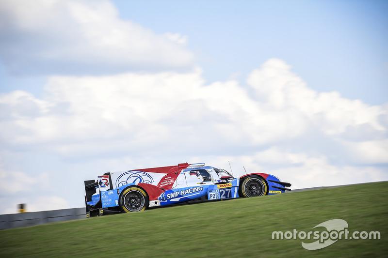 8. LMP2: #27 SMP Racing, BR01 - Nissan: Maurizio Mediani, Nicolas Minassian, David Markozov