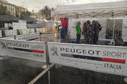 Pioggia al Rallye Sanremo