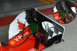 Ferrari SF16-H, Flügeldetail