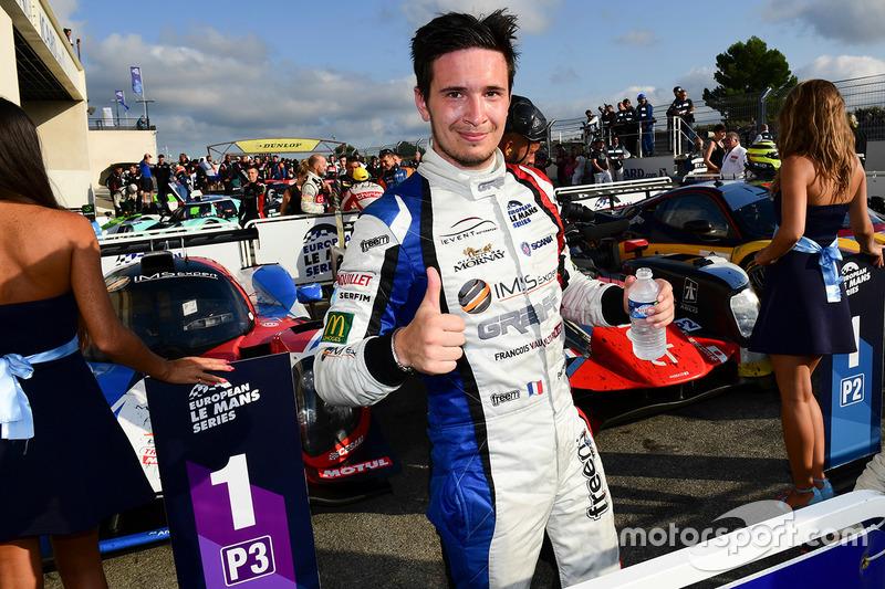 I vincitori LMP3 #9 Graff Racing Ligier JS P3 - Nissan: Eric Trouillet, Paul Petit, Enzo Guibbert