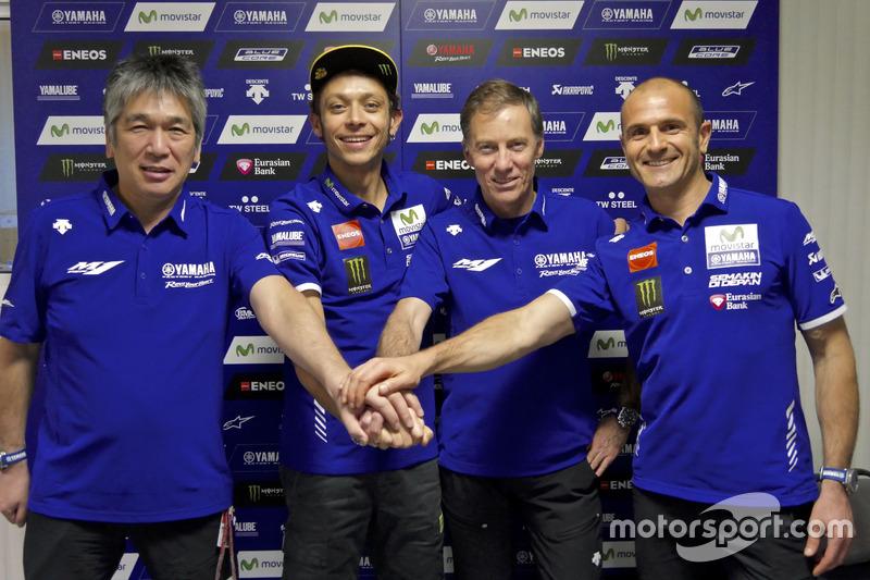 Valentino Rossi, Movistar Yamaha MotoGP, Yamaha confirmar la extensión de contrato por dos años