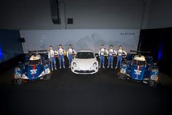 #35 Baxi DC Racing, Alpine A460 - Nissan: David Cheng, Ho-Pin Tung, Nelson Panciatici; #36 Signatech, Alpine A460: Gustavo Menezes, Nicolas Lapierre, Stéphane Richelmi