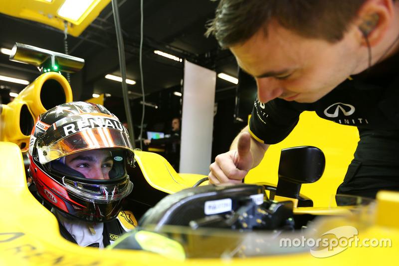 Esteban Ocon, 3. Fahrer, Renault Sport F1 Team