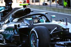 Нико Росберг, Mercedes AMG F1 W07 Hybrid с системой защиты головы