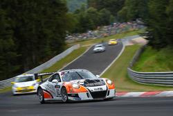 Frank Kräling, Marc Gindorf, Christopher Brück, Porsche 991 GT3 Cup MR
