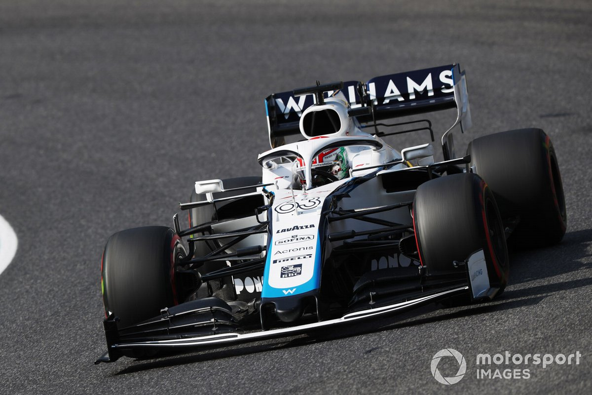 P18 George Russell, Williams FW43