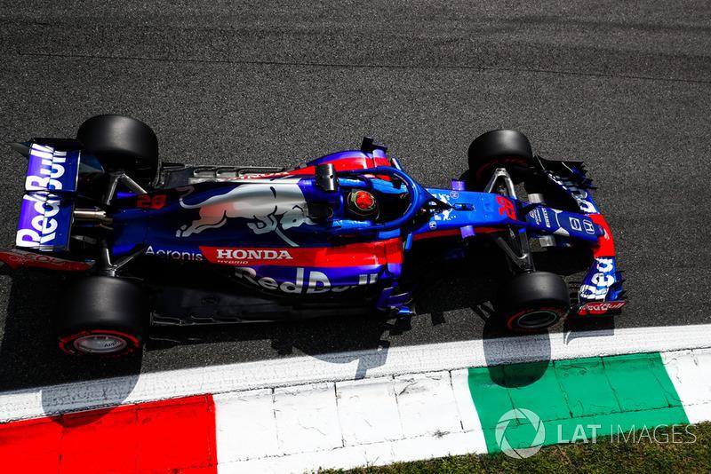 16: Brendon Hartley, Toro Rosso STR13, 1'21.934