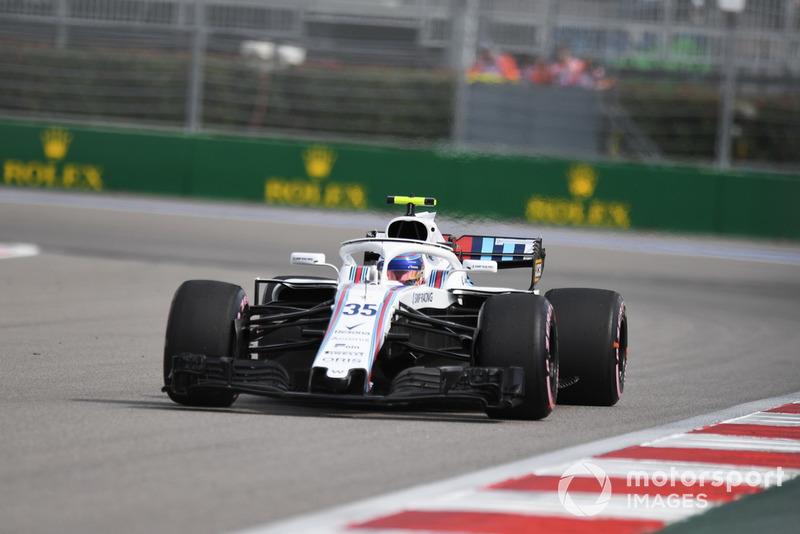 20. Sergey Sirotkin, Williams FW41