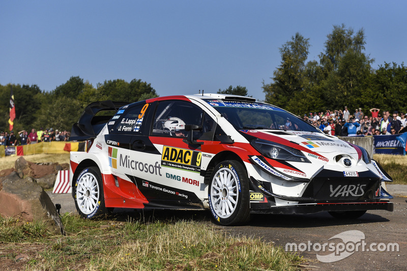Esapekka Lappi, Janne Ferm, Toyota Yaris WRC, Toyota Gazoo Racing