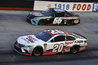 Erik Jones, Joe Gibbs Racing, Toyota Camry Sport Clips and Timmy Hill, Motorsports Business Management, Toyota Camry