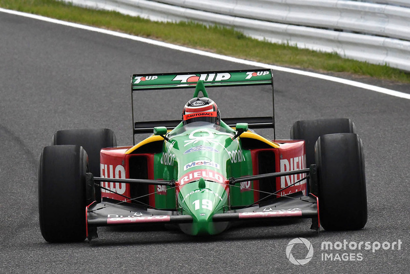 Benetton F1 at Legends F1 30th Anniversary Lap Demonstration