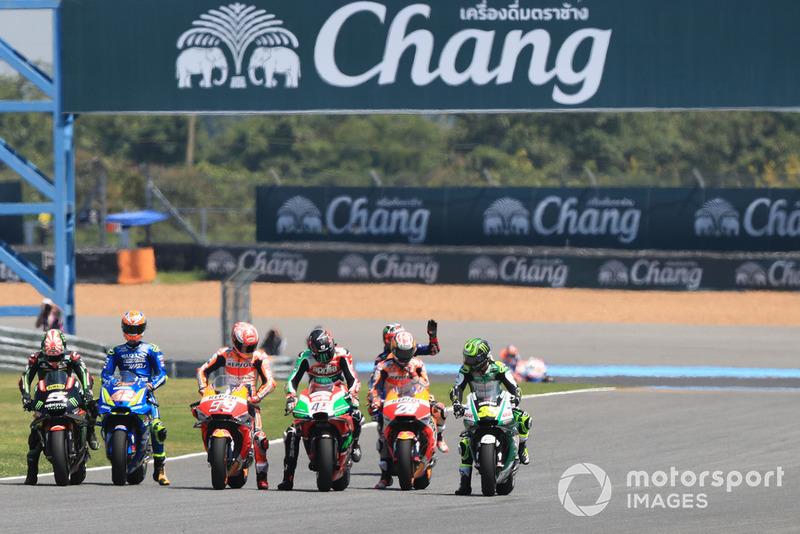 Latihan start MotoGP