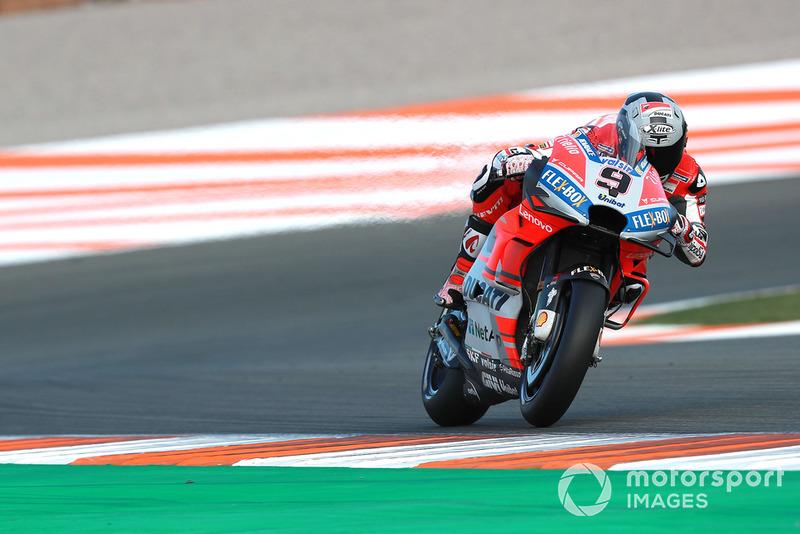 Danilo Petrucci (Ducati Team) a été promu depuis Pramac