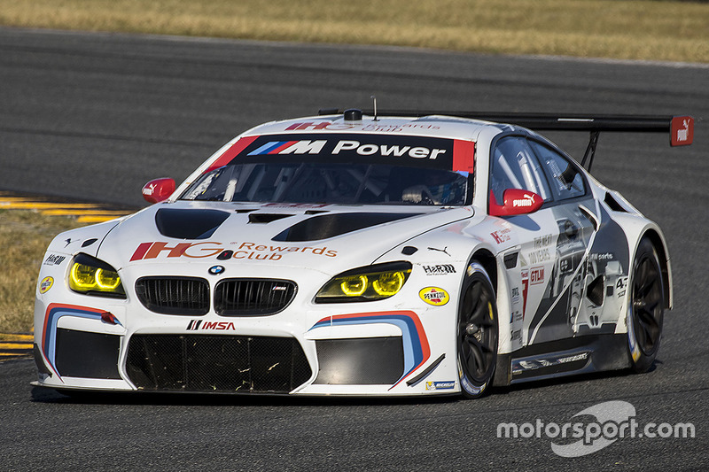#25 BMW Team RLL BMW M6 GTLM: John Edwards, Bruno Spengler, Martin Tomczyk