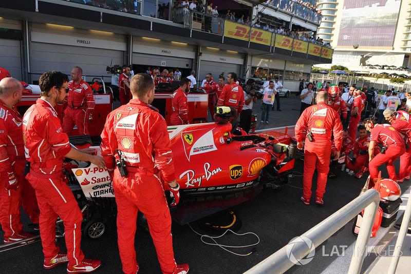 Auto von Sebastian Vettel, Ferrari SF70H