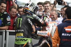 1. Marc Marquez, Repsol Honda Team, 2. Jonas Folger, Monster Yamaha Tech 3