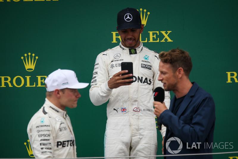 Валттері Боттас, Льюіс Хемілтон, Mercedes AMG F1, Дженсон Баттон