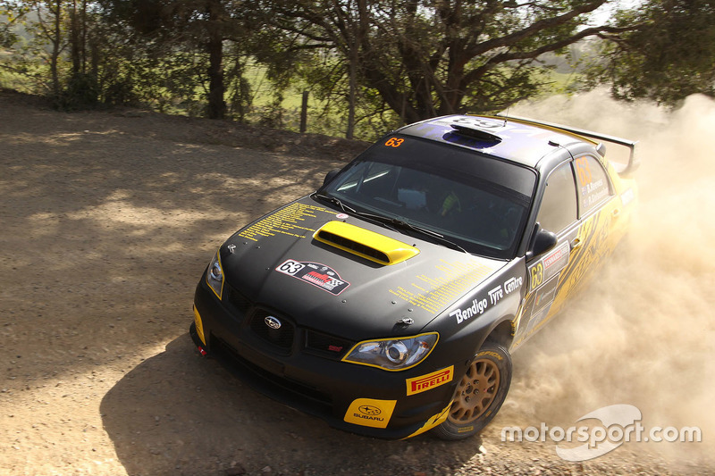 Brendan Reeves, Rhianon Gelsimono, Subaru Impreza WRX STI