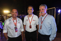 Tan Sri Azman, Chairman of Sepang International Circuit and Chase Carey, Chief Executive Officer and