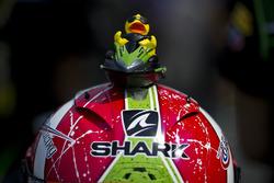 Helm von Kyle Ryde, Kawasaki, Puccetti Racing