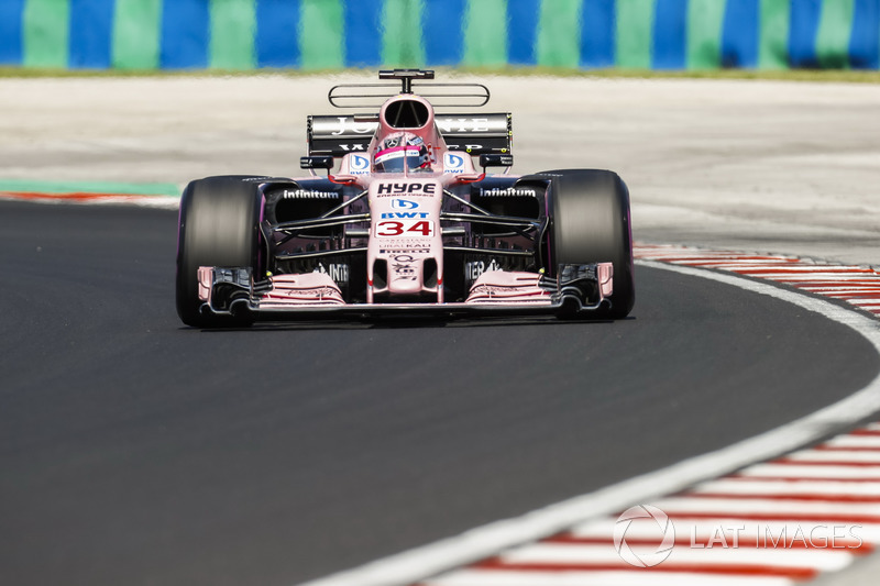 Микита Мазепін, Sahara Force India F1 VJM10