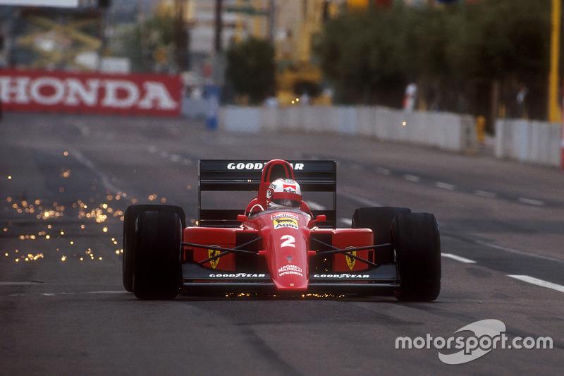Формула 1. Гран При США, Найджел Мэнселл, 1990 год