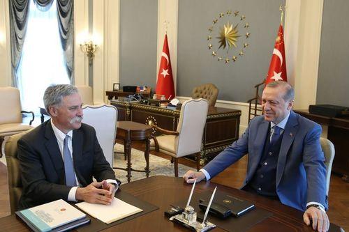 Chase Carey Türkiye görüşmeleri