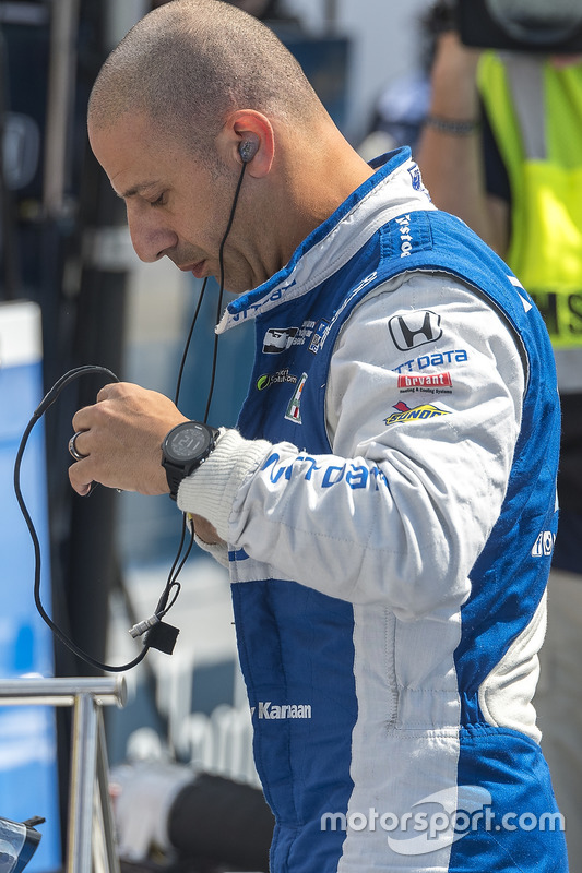 Tony Kanaan, Chip Ganassi Racing. Honda