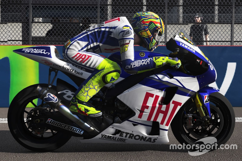 Valentino Rossi, Yamaha YZR-M1 2010