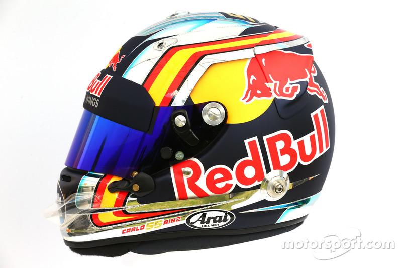 Helm von Carlos Sainz Jr., Scuderia Toro Rosso