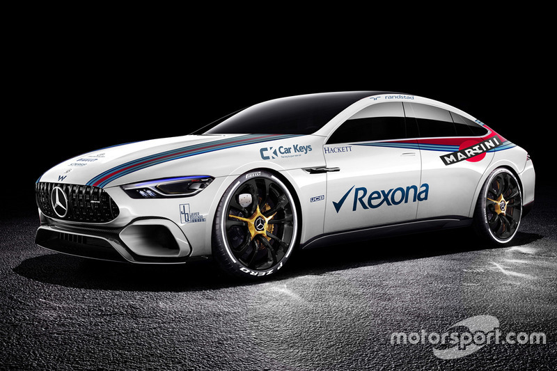Mercedes Benz AMG GT Concept im Williams-Design