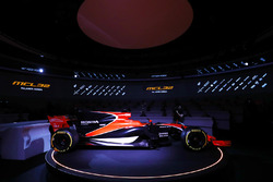 Zak Brown, Executive Director of McLaren Technology Group, talks to presenter Simon Lazenby about the McLaren MCL32