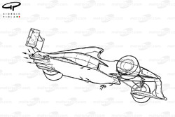 Схема аэродинамики Jordan 191 1991 года