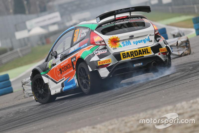 Giacomo Scattolon, Paolo Zanini, Ford Fiesta