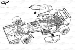 Arrows A11 1989 exploded view