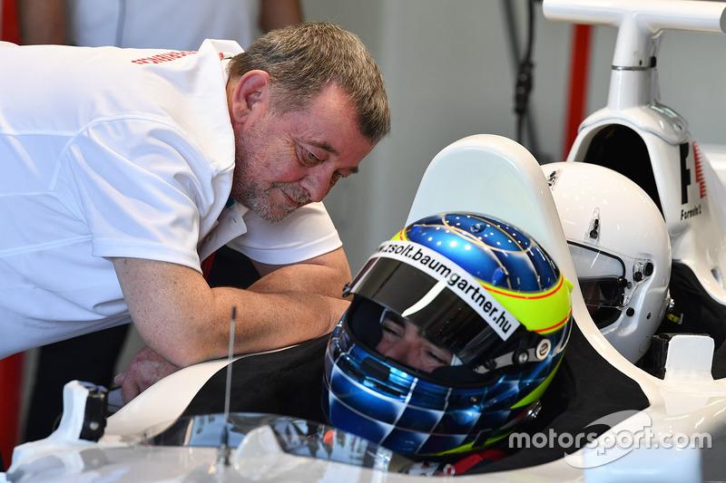 Paul Stoddart, Zsolt Baumgartner, F1 Experiences 2-Seater driver
