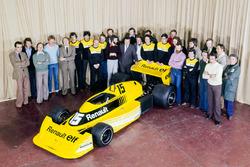 Renault RS 01 et l'équipe Renault