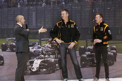 Stuart Codling, Matt Neal and Gordon Shedden