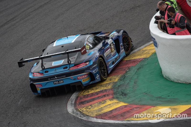 #18 Black Falcon Mercedes-AMG GT3: Gabriele Piana, Abdulaziz Al Faisal, Hubert Haupt, Renger van der Zande